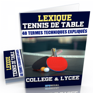 lexique tennis de table eps