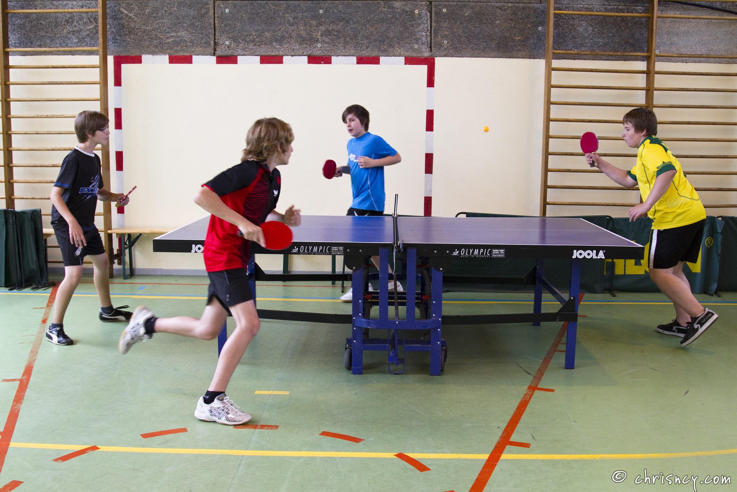 Quelles situations pour l'échauffement en tennis de table en EPS au collège?