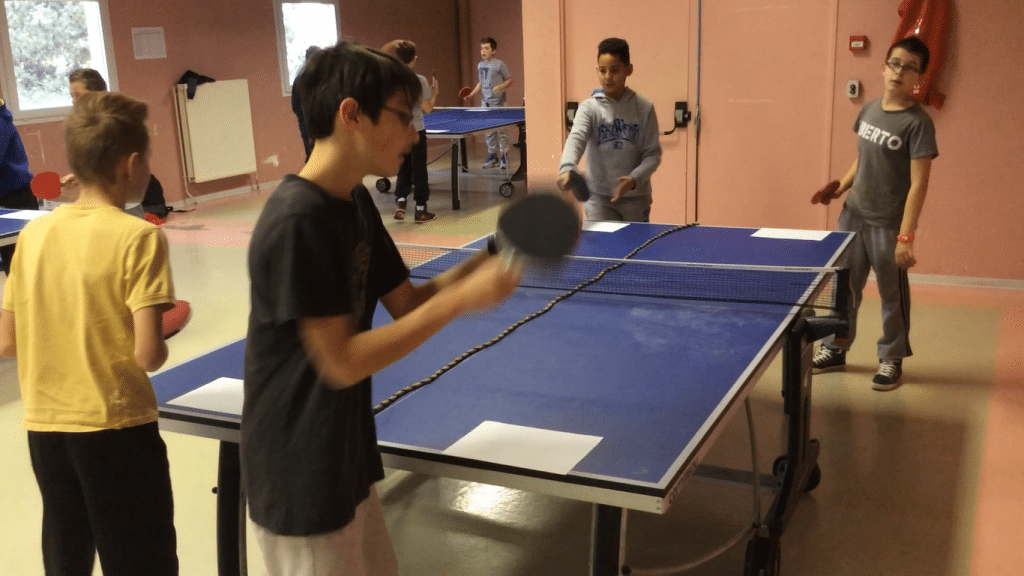 service tennis de table