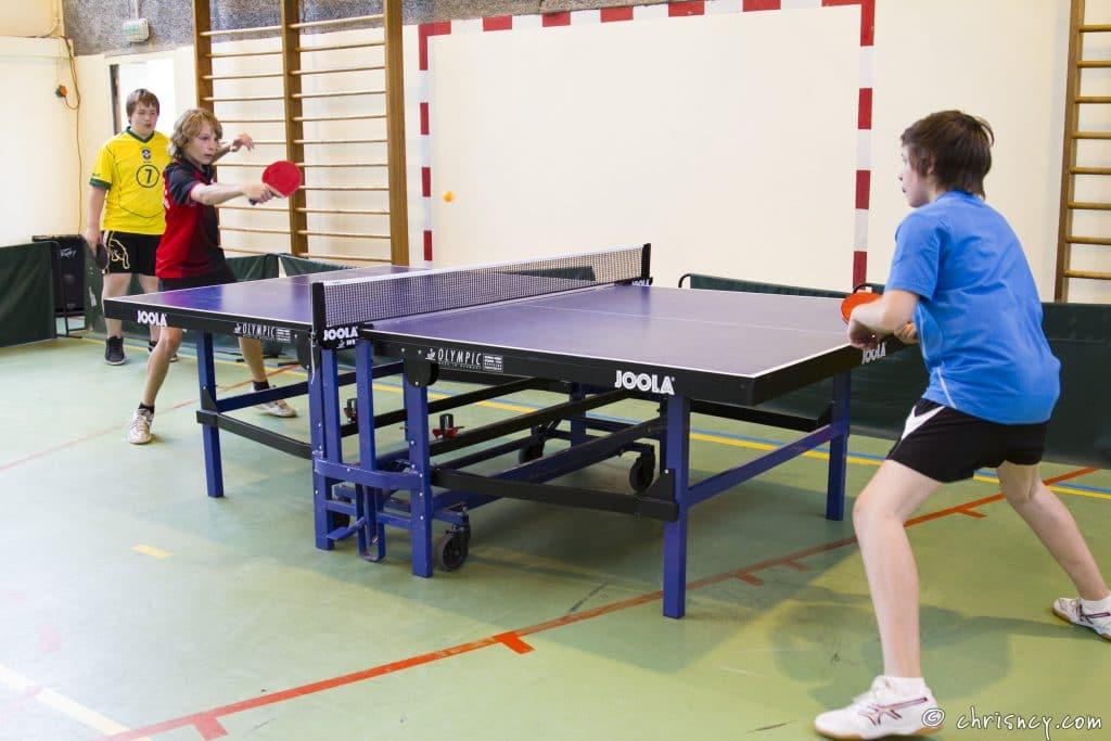 EPS tennis de table