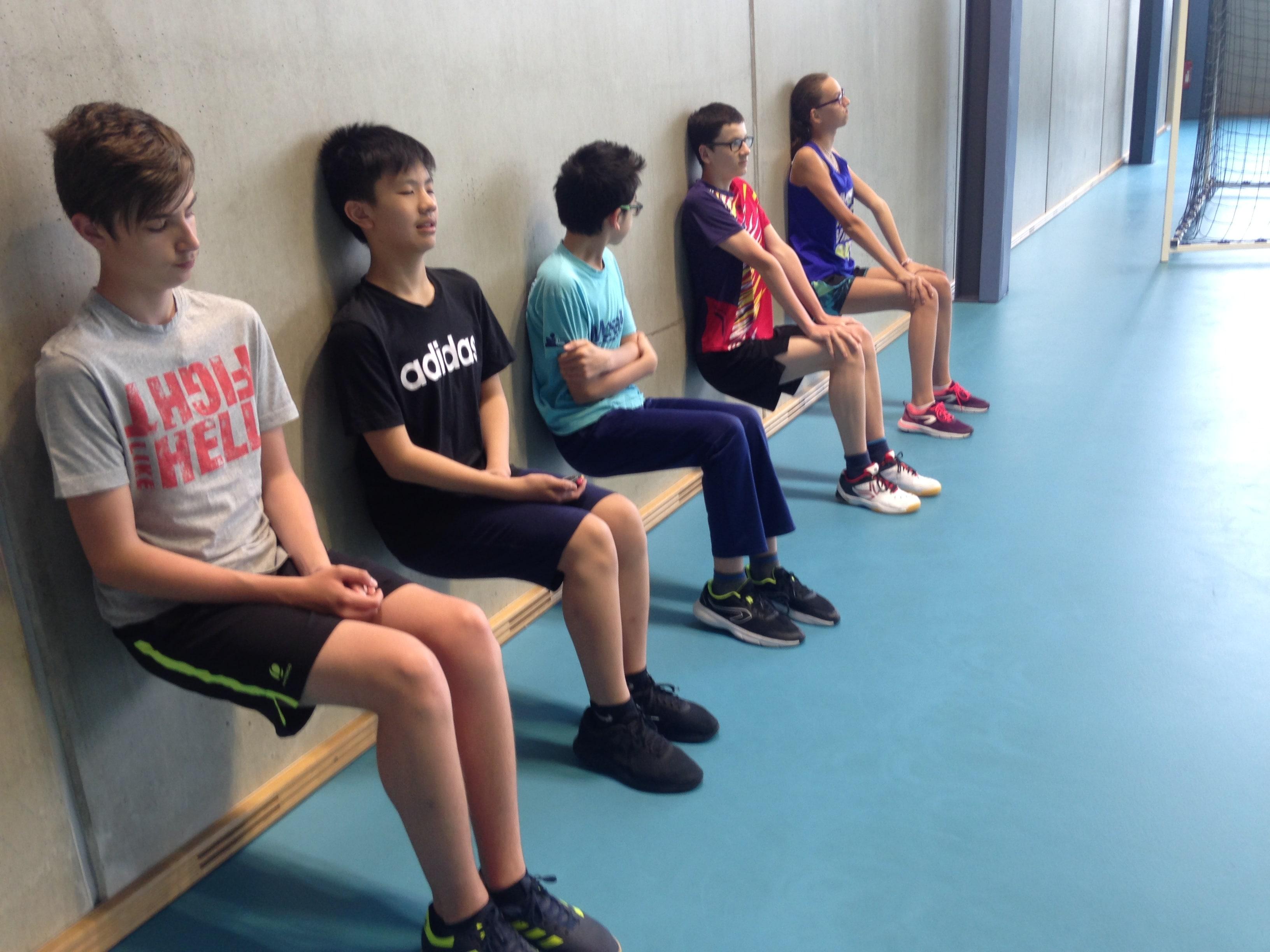 Une séance de 7 minutes…pour le bien être du prof et des élèves