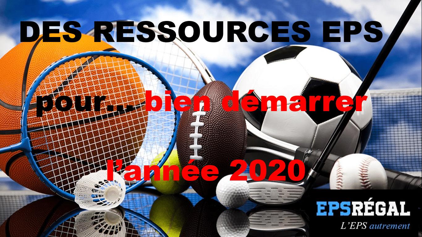Des ressources EPS pour bien démarrer l'année 2020