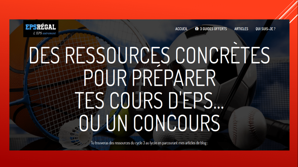 ressources EPS college lycee