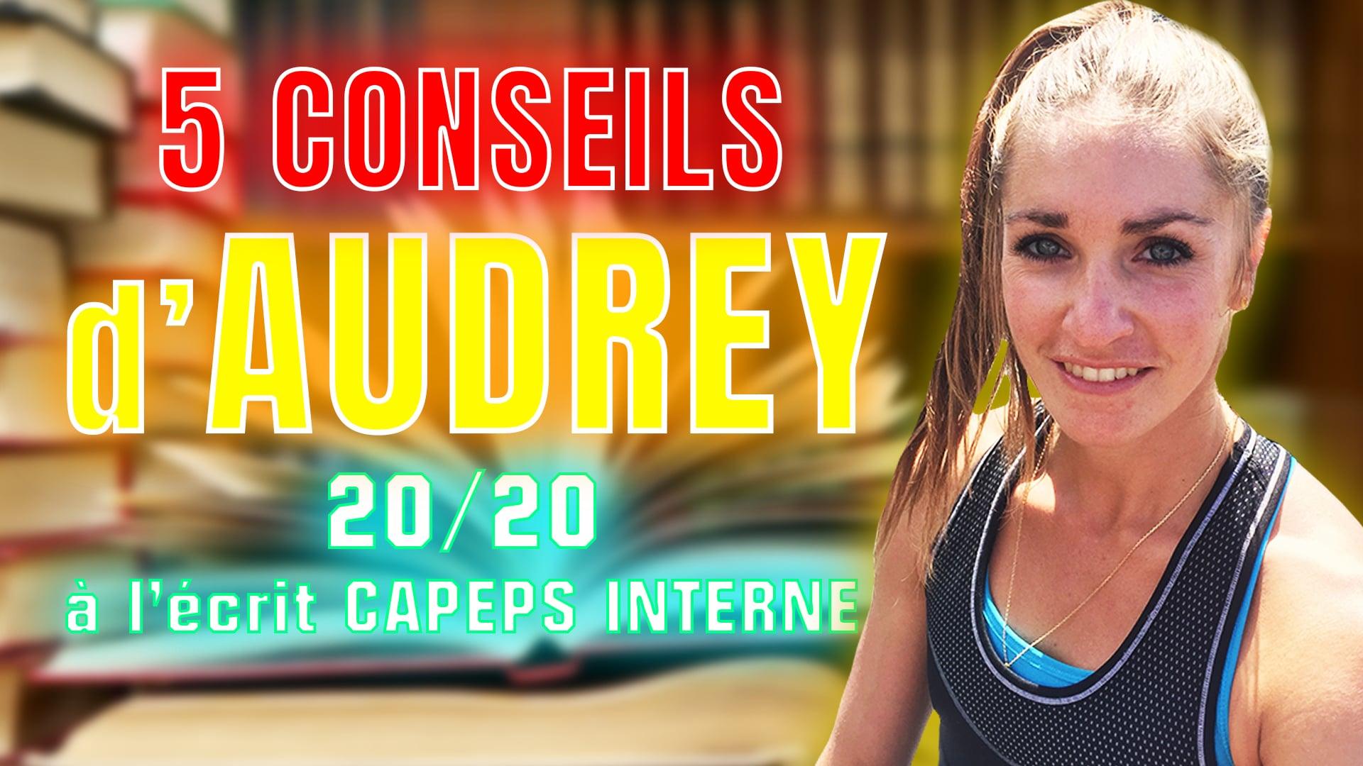 Réussir le CAPEPS interne: les 5 conseils d'Audrey