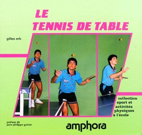 Tennis de table EPS college lycee